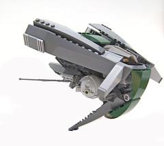 Danj (Hase0) Tags: anime green spaceship spacecraft