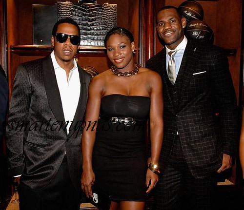 jay-z serena lebron james