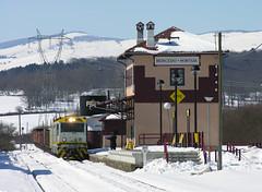 Nevada en Bercedo (ordunte) Tags: nieve feve robla arenero alsthom bercedo