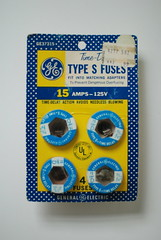 GE Type S Fuses from Korvettes (Triborough) Tags: nyc newyorkcity ny newyork ge fuse korvettes