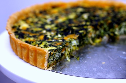 spinach quiche, revisited | smitten kitchen