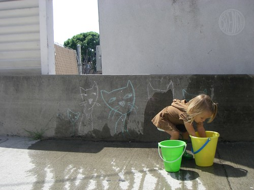 washing graffiti 6