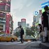 seconds ahead (F_blue) Tags: tokyo kodak shibuya hasselblad 渋谷 500cm portra160nc planart c8028 fblue2008