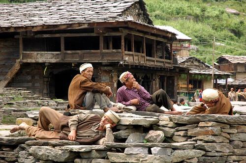 Malana Village, Himachal Pradesh, 2007 by basoo!.
