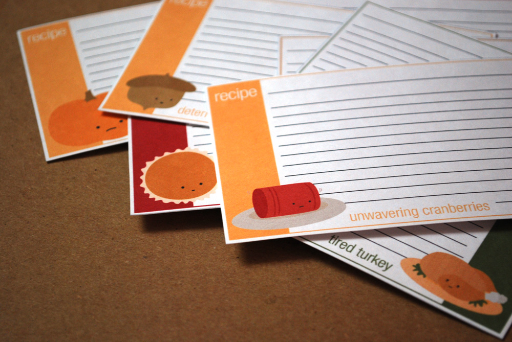 The Harvesters Recipe Cards