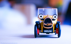 Brummmmm Beeeep Beeeep (another planet : )) Tags: macro bokeh toycar brum hbw bokehwednesday