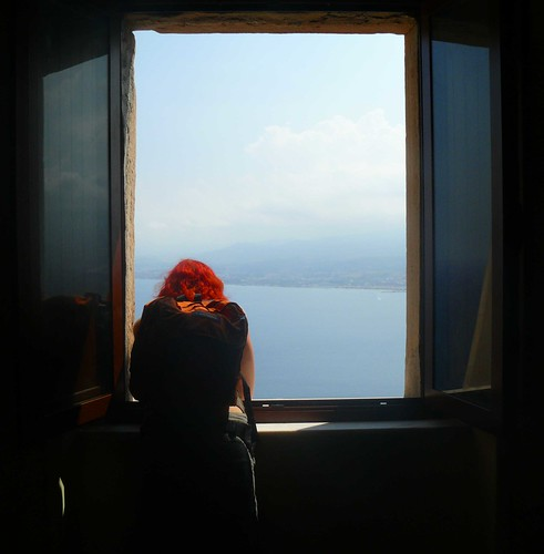 red hair window oliveri