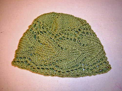 Knit Picks Comfy Twig Lace Hat
