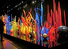 Amazing Chihuly glass exhibit in SanFrancisco (ArtsySF  ~ Marjie) Tags: chihuly art glass robin museum person flickr  exhibit explore deyoung blown flickrfriend artsysf colourmania