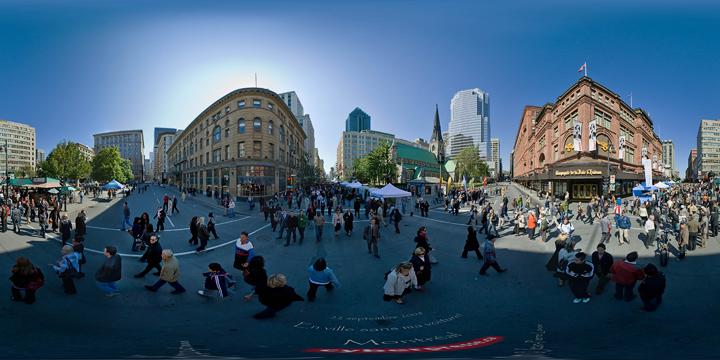 Montréal sans voitures 2008