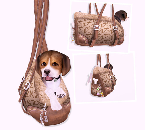 """The Z Bag"" Ultimate Pet Carrier by you."