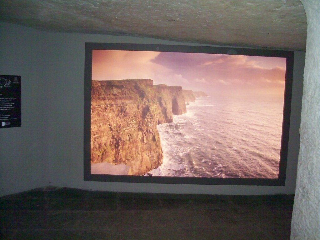 Ireland - Cliffs of Moher - display in visitors center