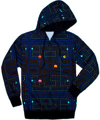 Pac-Man Hoodie by momentimedia