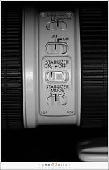 Figuur 6: beeldstabilisatie (IS) op de Canon EF 70-200mm f/2,8L IS USM