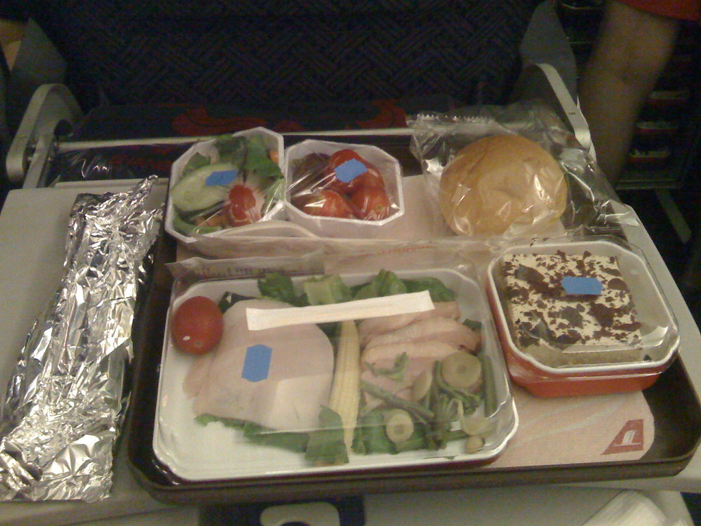 Airline Food Hasn't Gotten Better