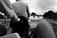 guto #2 (Gabriela Lancellotti) Tags: bw ride brother farm pb irmo fazenda