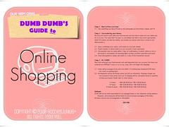 NEED A ONLINE SHOPPING GUIDE?