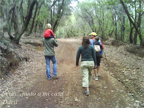 paseo en el monte