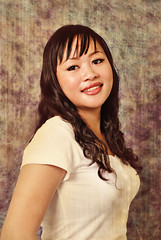 Smart little lady (Nadia Marudiah @arvishstudio.com) Tags: lady studio model sweet spylens