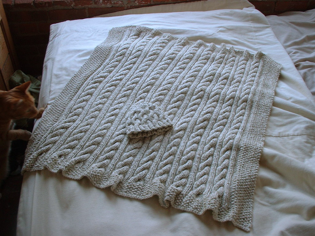 Free Baby Blanket Knitted Patterns Free Baby Blanket