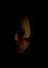 penumbra (rosa_rusa) Tags: texture strange face dark teatro mask theatre ghost cara explore mascara surrealist disturbing mistery fantasmas oscuro inquietante penumbra rhizome afterthought estraa rosarusa