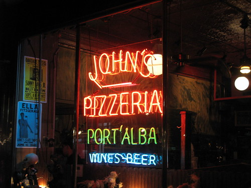 John's Pizza in the W. Village - NYC