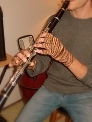 matthew's fingerless gloves (conquest23skidoo) Tags: superwash germany handpainted knitted fingering knitty sockyarn sockenwolle wollmeise knucks loopyewe pamelagrossman