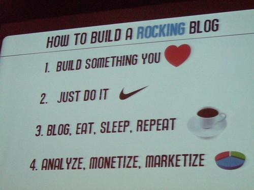 How To Build A Rocking Blog
