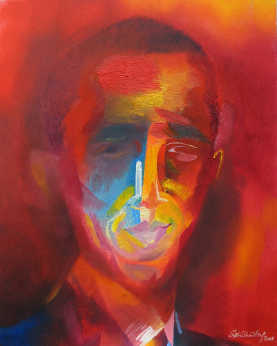 Barack Obama. 2008 by Stephen B Whatley