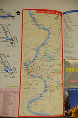 River Route, Official Airport Bangkok Map