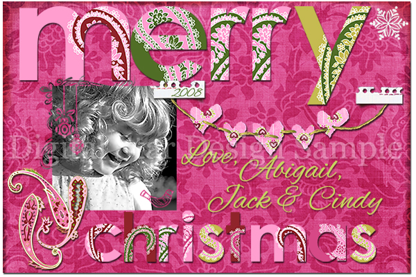 Holiday Card Sample 5, 6x4 (web size)