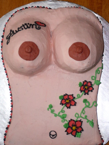 021 · 020 · my brothers tattoo boob cake