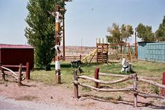 Parque infantil en la Historic Route 66