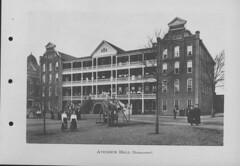Georgia Normal and Industrial College Booklet Page Featuring Atkinson Hall