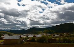 克纳村 tibetan village