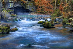 Misty Morning at Greer Spring (Uncle Phooey) Tags: nature water beauty rural searchthebest scenic mo explore missouri ravine cave flowing ozarks hdr morningmist unspoiled southwestmissouri scenicwater greerspring abigfave oregoncounty vosplusbellesphotos unclephooey cffaa