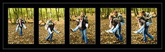 piggy back (M*I*K*E) Tags: nottingham uk england love mike smile fun happy photography engagement couple laugh sutton ashfield rufford nottinghamshire swanwick