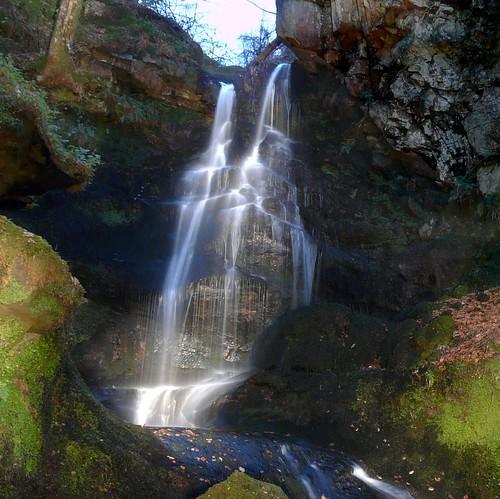 Upper Fairlie waterfall22Nov08