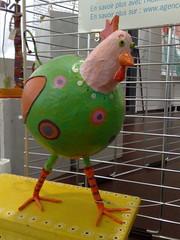 Exposition En(c)rage (DaffyDuke) Tags: exposition affiche concert maison folie wazemmes lille poule recyclage papier