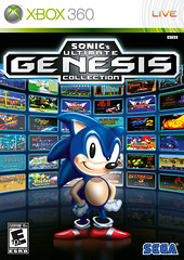 Ultimate Genesis Collection Cover - Xbox 360