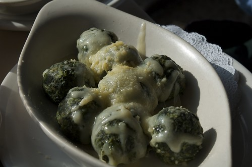 Spinach Gnocchi