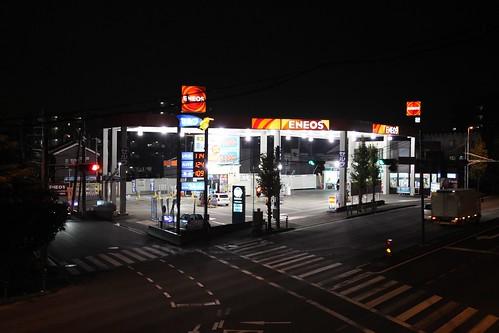 ガソリンスタンド 2008年12月