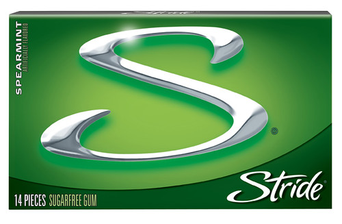 Photo upload from Flickr: Stride Gum Spearmint