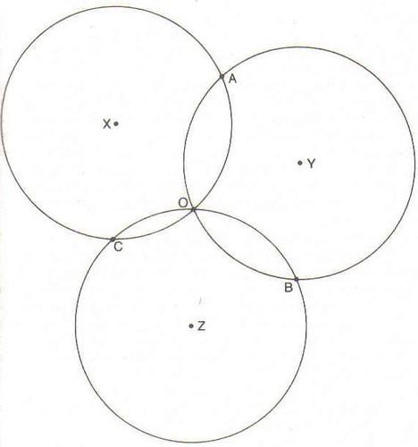 Los círculos secantes