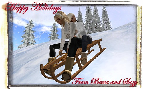 from the snow to the christmas tree to the warm fire to the dancing to the iceskating this is a beautiful virtual christmas ecard i love it