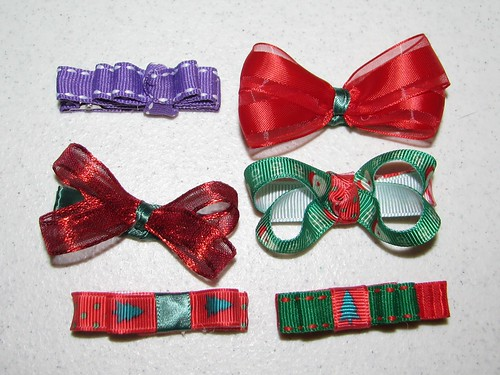 2nd Attempt at making hair bows