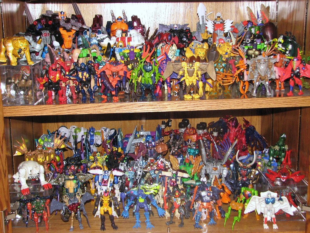 Project 365 Toys - Beast Wars Collection (Day 104 of 365)