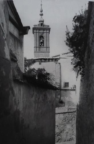 Iglesia de San Lorenzo (Toledo) antes de ser incendiada en la Guerra Civil. Foto Rodríguez