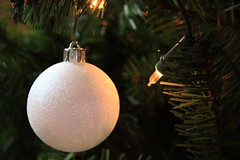Sparkly Christmas Tree Bauble