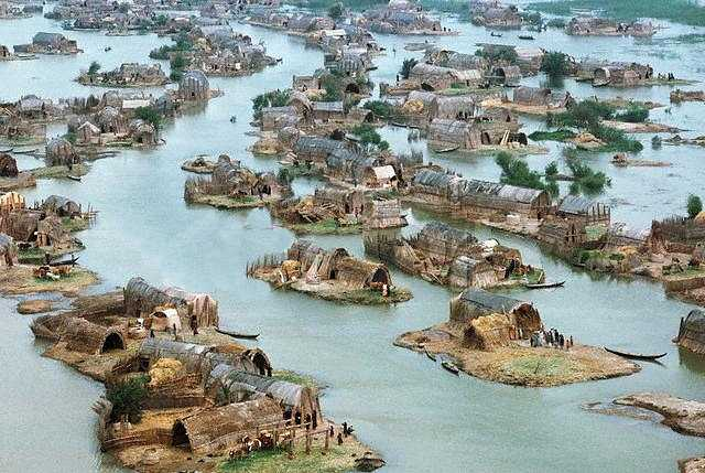 irak's marsh